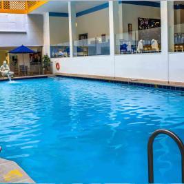 Pool of the Neiva Plaza Hotel