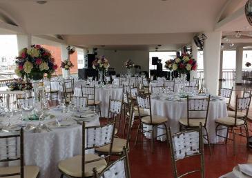 Neiva Plaza Hotel open terrace for events
