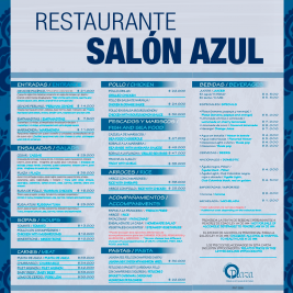 MENU RESTAURANT HOTEL NEIVA PLAZA- OPEN TO THE PUBLIC