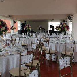 Neiva Plaza Hotel open terrace for events