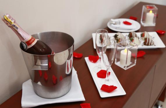 Romantic plan in the Hotel Neiva Plaza
